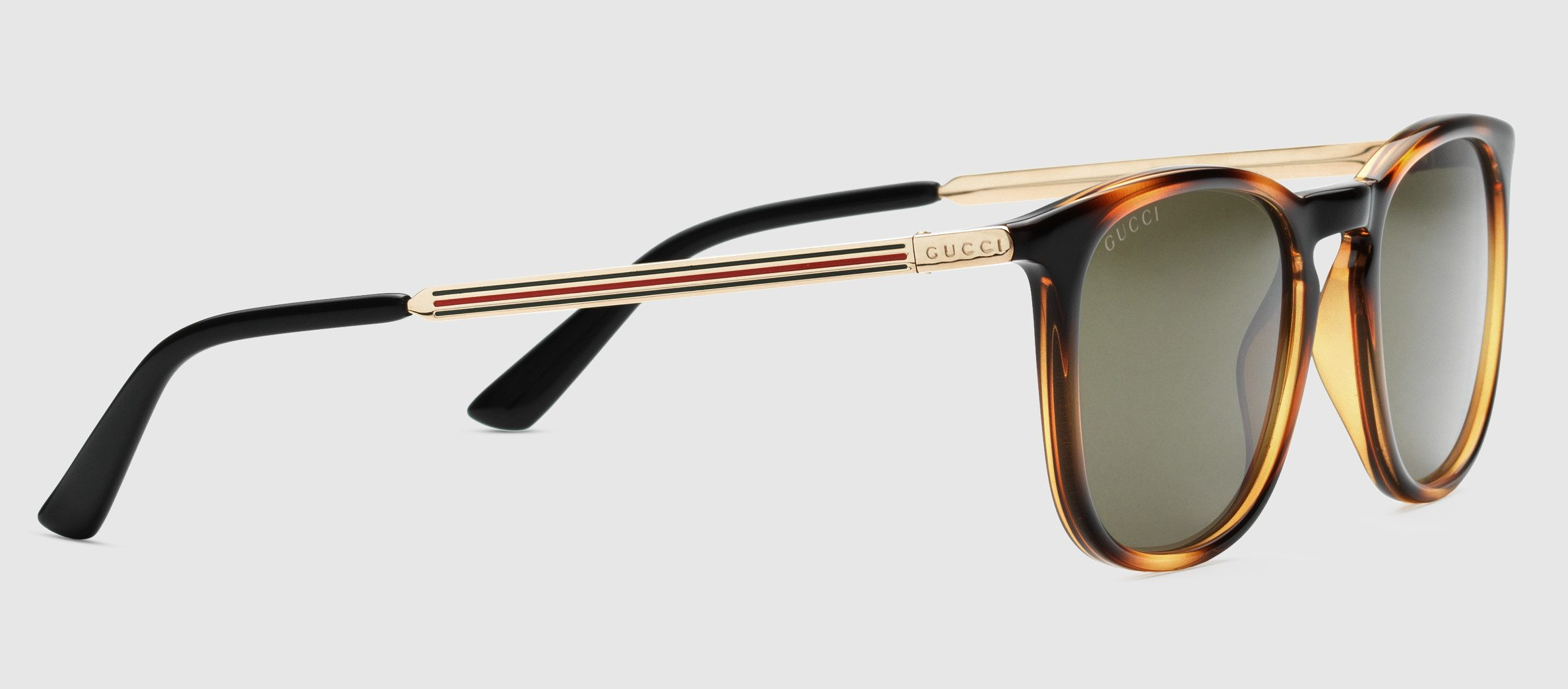 Square-frame optyl web sunglasses gucci