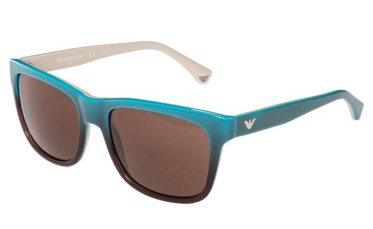 Emporio Armani Okulary przeciwsłoneczne - turquoise