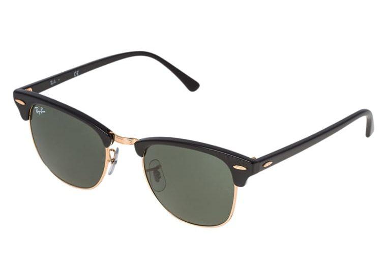 Ray-Ban CLUBMASTER - Okulary przeciwsłoneczne - black