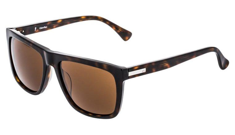 Calvin Klein Okulary przeciwsłoneczne - havana