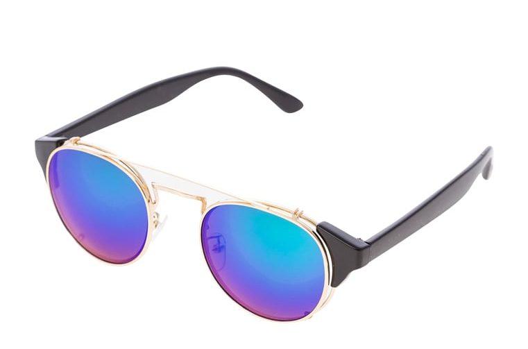 Jeepers Peepers Okulary przeciwsłoneczne - black blue